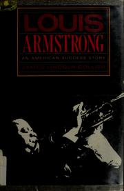 Cover of: Louis Armstrong | James Lincoln Collier