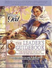 Cover of: Life Principles from the Women of the Bible-Book One (Following God Character Builders) | Shepherd, Richard.