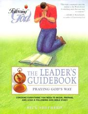 Cover of: Praying God's Way | Richard L. Shepherd