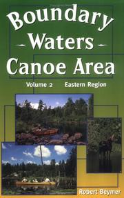 Cover of: Boundary Waters Canoe Area by Robert Beymer