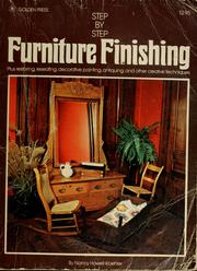 Cover of: Step-by-step furniture finishing by Nancy Howell-Koehler