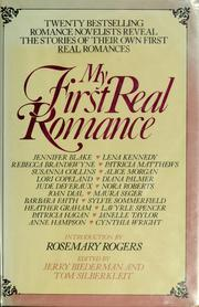 Cover of: My first real romance by Jennifer Blake, Jerry Biederman, Tom Silberkleit