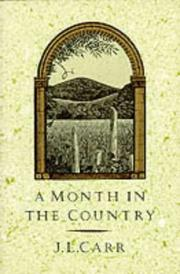 Cover of: A Month in the Country | J.L. Carr