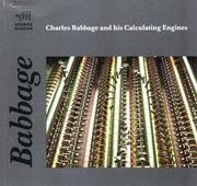 Cover of: Charles Babbage and His Calculating Engines | Doron Swade