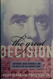 Cover of: The great decision | Cliff Sloan