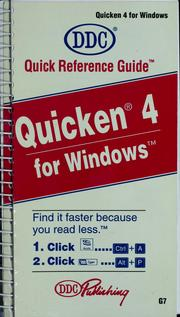 Cover of: Quicken 4 for Windows | Kathy Berkemeyer