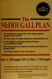 Cover of: The McDougall plan for super health and life-long weight loss by John A. McDougall
