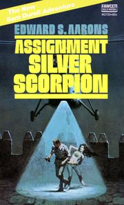 Cover of: Assignment Silver Scorpion | Edward S. Aarons