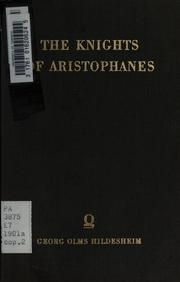 Cover of: Knights | Aristophanes