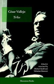 Cover of: Trilce by Cesar Vallejo