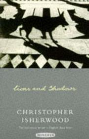 Cover of: Lions and Shadows | Christopher Isherwood