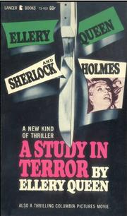 Cover of: A study in terror by Ellery Queen