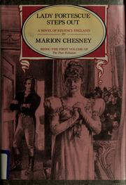 Cover of: Lady Fortescue steps out | Marion Chesney