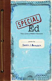 Cover of: Special Ed by Dennis J. Bernstein