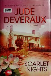 Cover of: Scarlet nights | Jude Deveraux