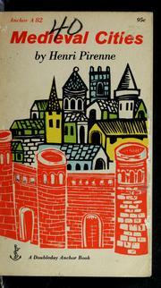 Villes du Moyen Age