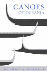 Cover of: Canoes of Oceania | Alfred C. Haddon