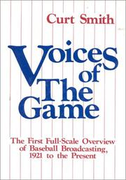 Cover of: Voices of the game | Curt Smith