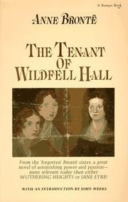 Cover of: The Tenant of Wildfell Hall by Anne Brontë