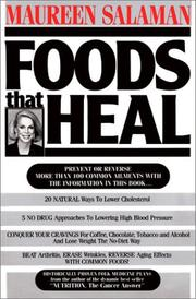 Cover of: Foods that heal | Maureen Kennedy Salaman