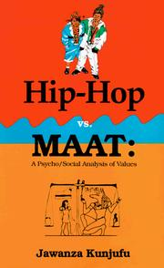Cover of: Hip-hop vs. MAAT | Jawanza Kunjufu