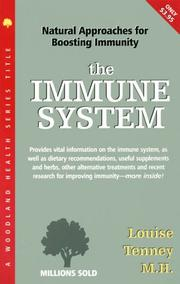 Cover of: Immune System | Tenney