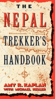 Cover of: The Nepal trekker's handbook by Amy R. Kaplan
