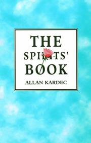 Cover of: The Spirits' Book by Allan Kardec