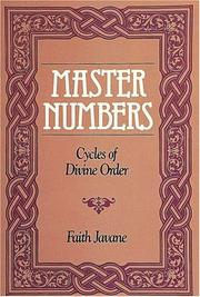 Cover of: Master numbers | Faith Javane