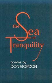 Cover of: The sea of tranquility | Don Gordon