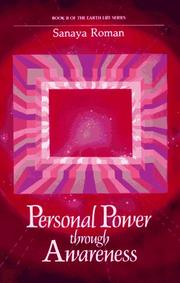 Cover of: Personal Power Through Awareness by Sanaya Roman
