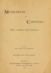 Masquerade and carnival