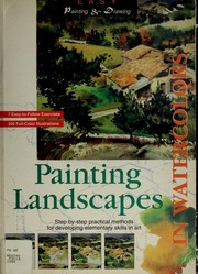 Painting landscapes in watercolors