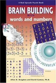 Cover of: Brain Building Games with Words and Numbers | David Gamon