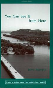 Cover of: You can see it from here | Jerry Wemple