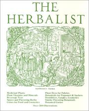 Cover of: The Herbalist | Joseph E. Meyer