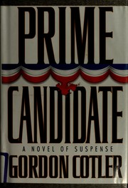 Cover of: Prime candidate | Gordon Cotler