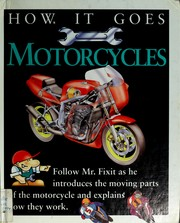 Cover of: Motorcycles | Kate Scarborough