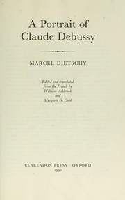 Cover of: Passion de Claude Debussy | Marcel Dietschy