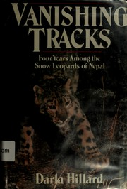 Cover of: Vanishing tracks by Darla Hillard