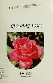 Cover of: Growing Roses | T. J. Cole