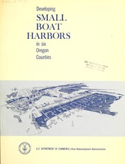 Cover of: A study of the feasibility of developing small boat harbors in six Oregon counties by Cornell, Howland, Hayes, and Merryfield.