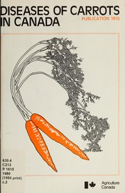 Cover of: Diseases of carrots in Canada by René Crête