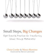 Cover of: Small steps, big changes by Chris Confer