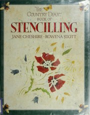 Cover of: The country diary book of stencilling | Jane Cheshire