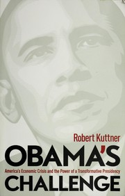 Cover of: Obama's challenge | Robert Kuttner
