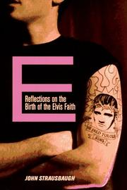 Cover of: E by John Strausbaugh
