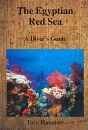 Cover of: The Egyptian Red Sea by Eric Hanauer