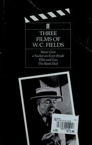 Cover of: Three Films of W.C. Fields by Louise Brooks