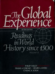 Cover of: The Global experience by